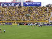 Just before the free kick that would lead to Segundo Castillo's equalizing goal