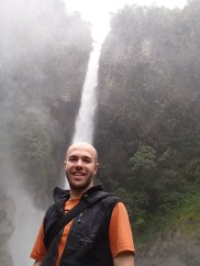 A little closer to the Machay Waterfall