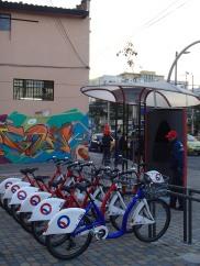 The Santa Clara BiciQ station