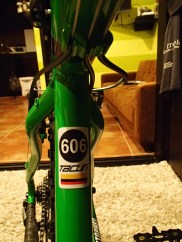 Mine is the 606th bike created at Construbicis