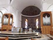 Inside Portoviejo's cathedral