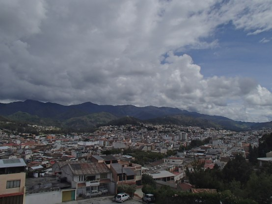 A view of the beautiful city of Loja